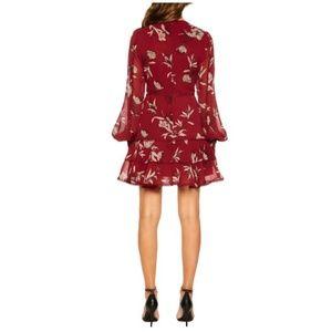 Bardot Dresses - [bardot] tammy trimmed floral dress